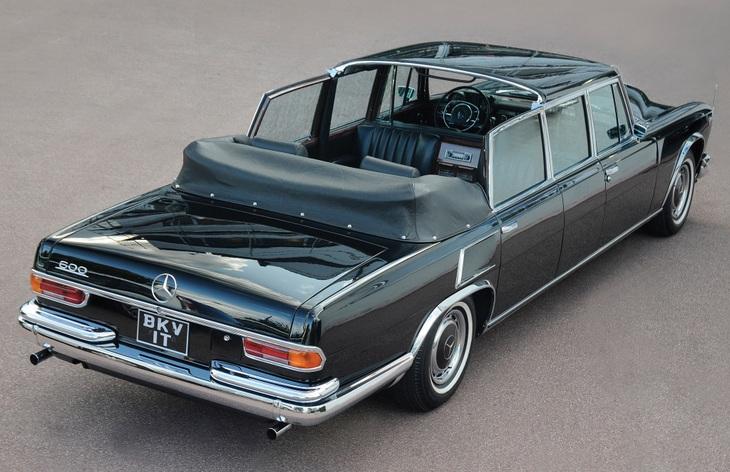 1963 Mercedes-Benz 600 Pullman Landaulet, 1963–1981