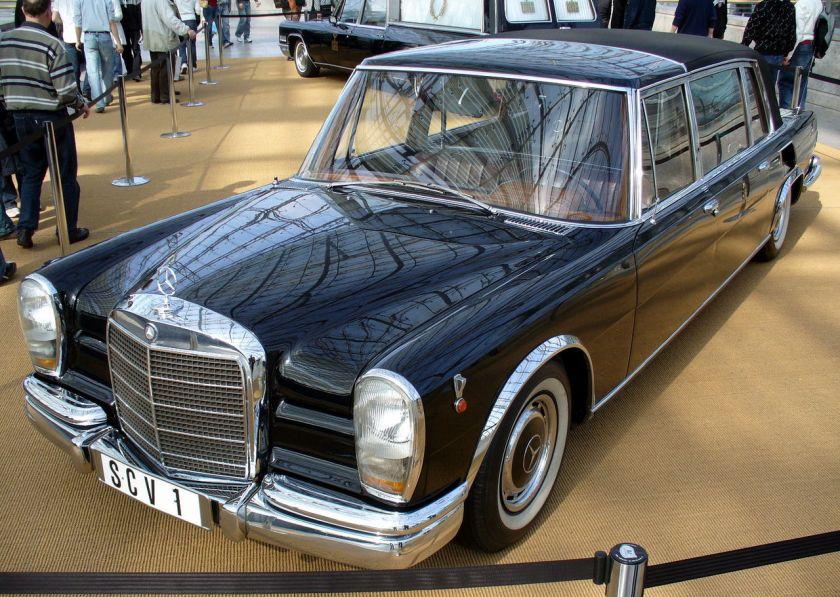 1963 Mercedes Benz 600 Pullman Papst Paul VI