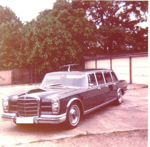 1963 mercedes-benz 600 pullman
