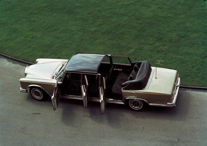 1963 Mercedes Benz 600 Special Landau Open a