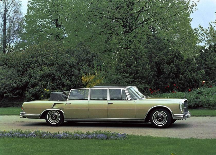1963 Mercedes Benz 600 Special Landau Open