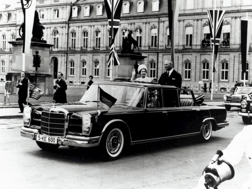 1963 Mercedes-Benz 600 W100 (1963-1981) Queen E