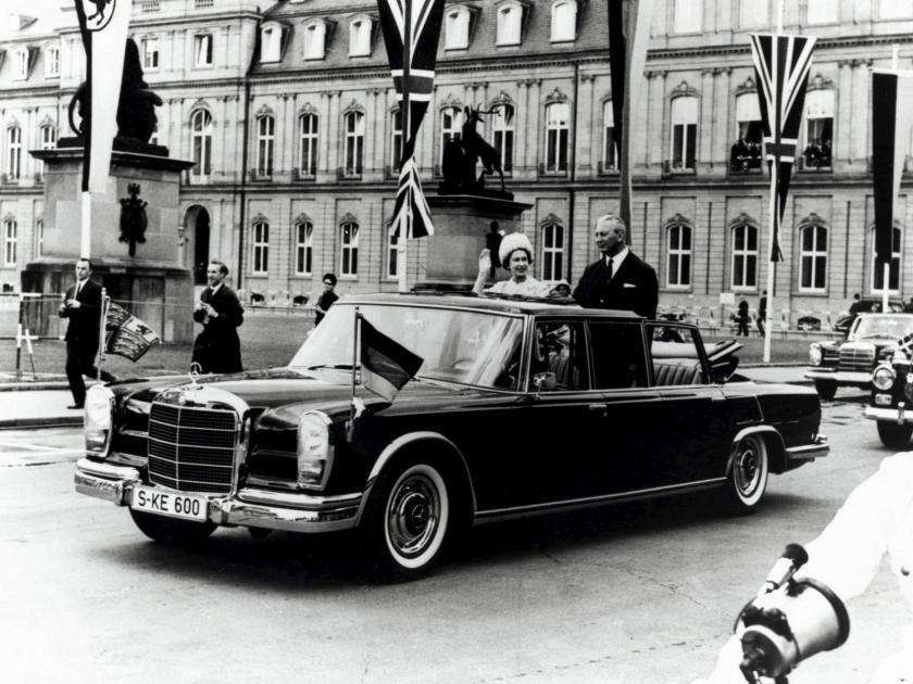 1963 Mercedes-Benz 600 W100 (1963-1981) Queen E