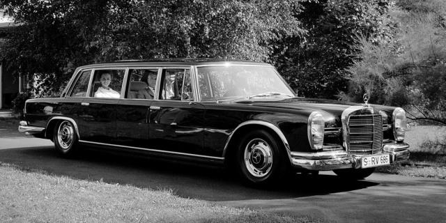 1963 Mercedes-Benz 600 W100 (1963-1981)