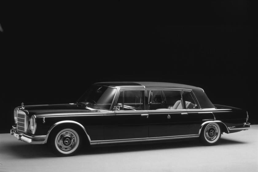 1963 Mercedes Benz W100 LWB Landaulet a