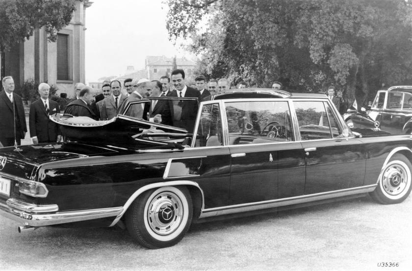 1963 Mercedes Benz W100 LWB Landaulet c