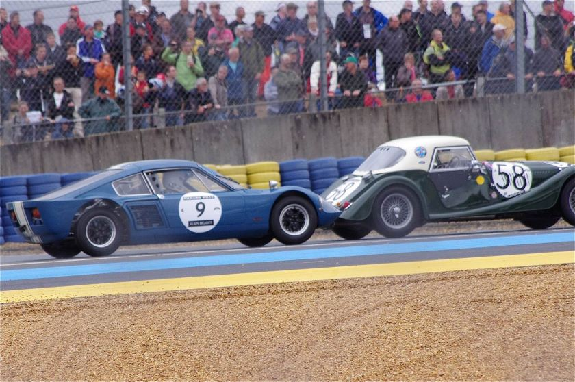 1964 Elva GT 160 and a 1962 Morgan +4