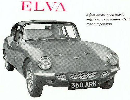 1964 Elva mk-IV ad