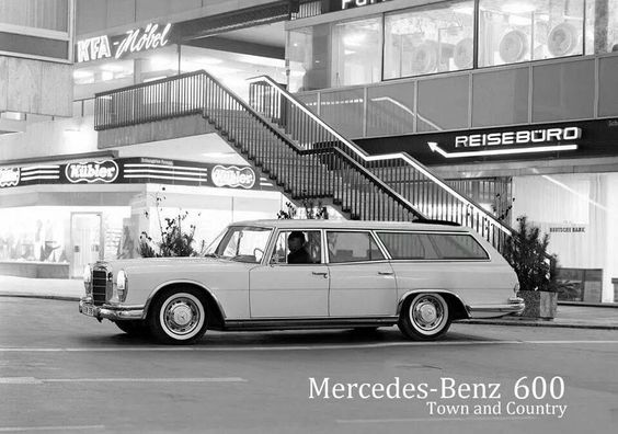 1964 Mercedes 600 shooting break