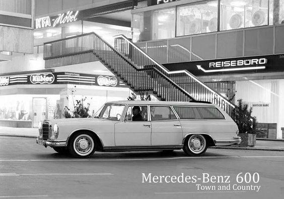 1964 Mercedes 600 shooting break