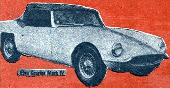 1965 Elva courier mark IV ad