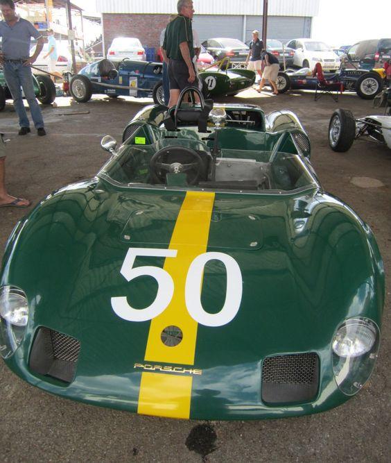 1965 Elva Porsche race car