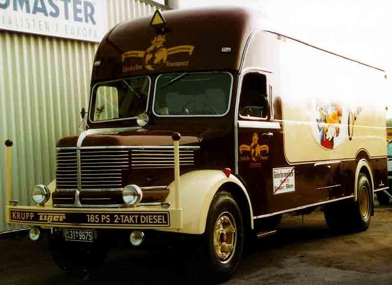 1965 Krupp Tiger Truck