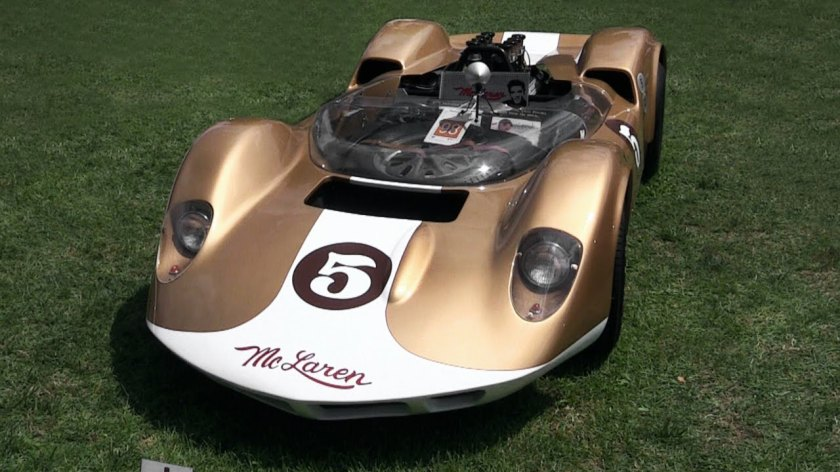 1965 McLaren - Elva M1A Loud Chevy V8 Sound