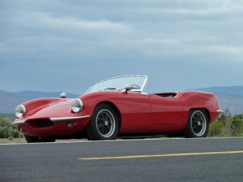 1966 Elva Courier front-side view