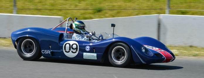 1966 Elva Mk8 SR CSRG David Love Memorial Vintage Car Road Races 2015