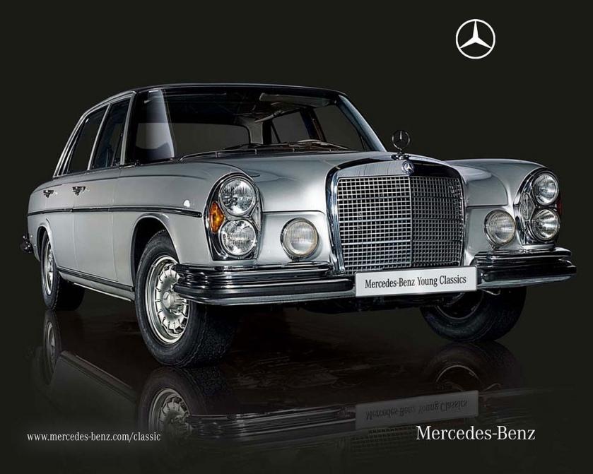 1968 Mercedes-Benz 300SEL 6.3 (W109)
