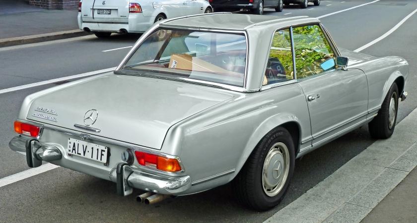 1969-71 Mercedes-Benz 280 SL (R113) roadster