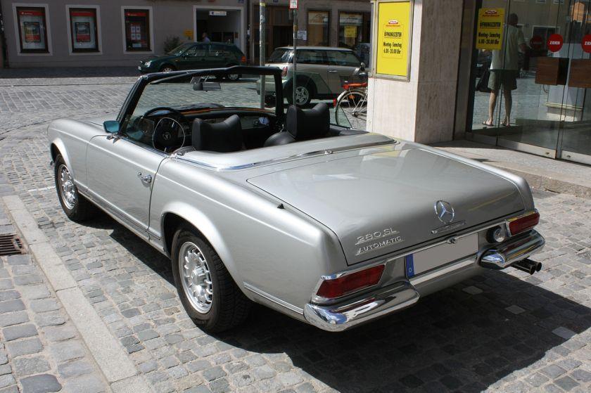 1970 Mercedes Benz 280 SL, European model