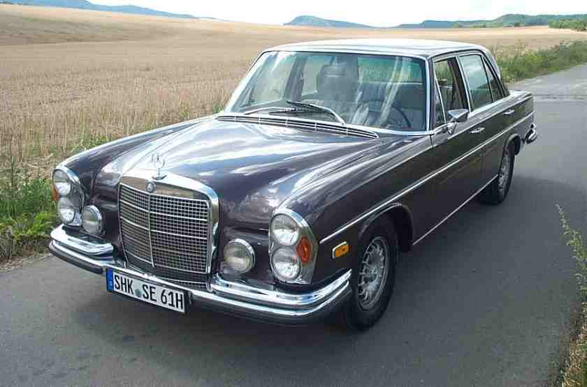 1972 Mercedes Benz 280 SE W108