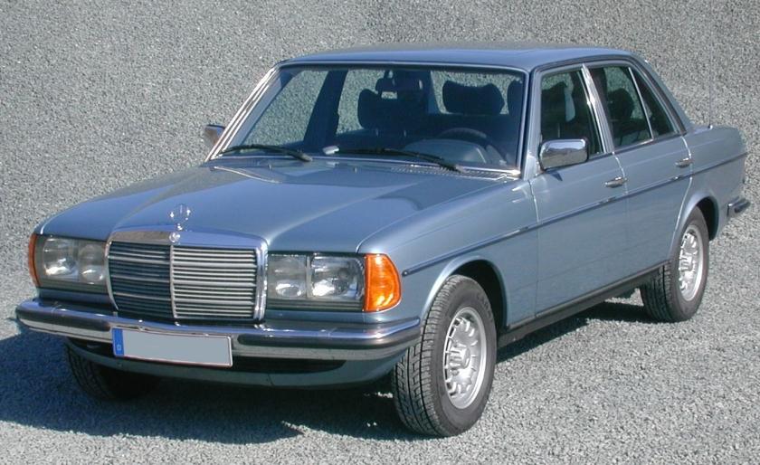 1977 Mercedes Benz 300D W123