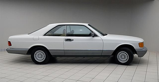 1985 mercedes benz 500 se coupe