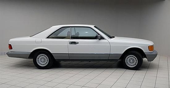 1985 mercedes benz 500 se coupe