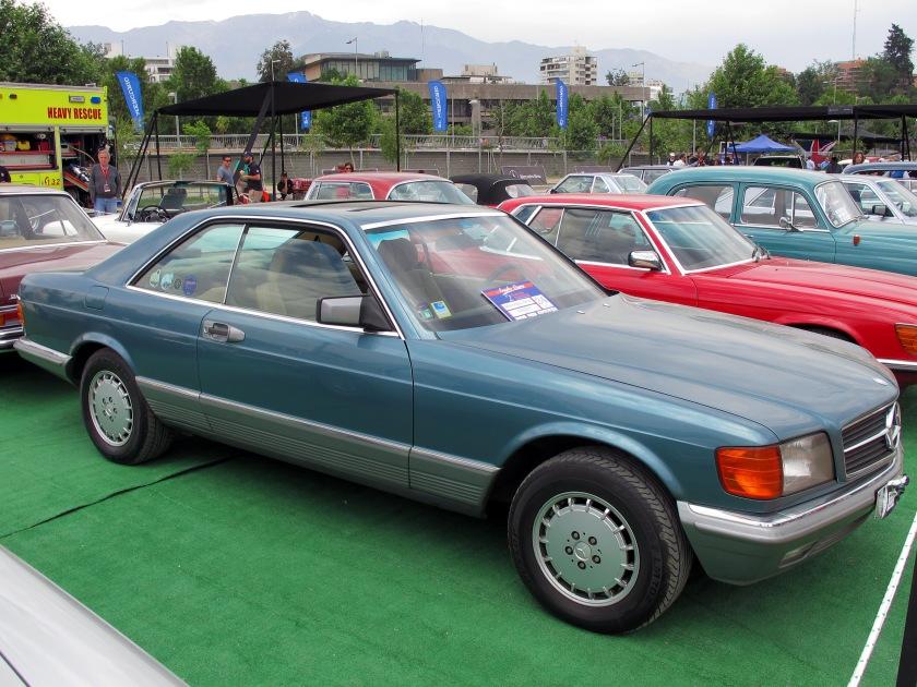 1985 Mercedes Benz 500 SEC