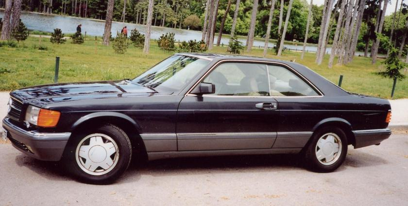 1986-91 Mercedes-Benz 560 SEC (C126) coupe 01