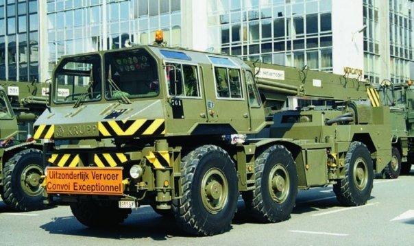 1986 Krupp FKL, 6x6