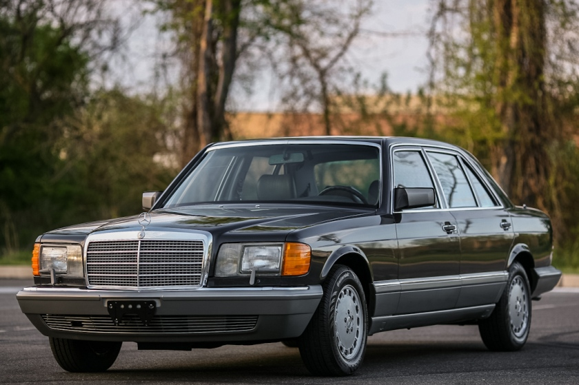 1987 Mercedes Benz 300SDL