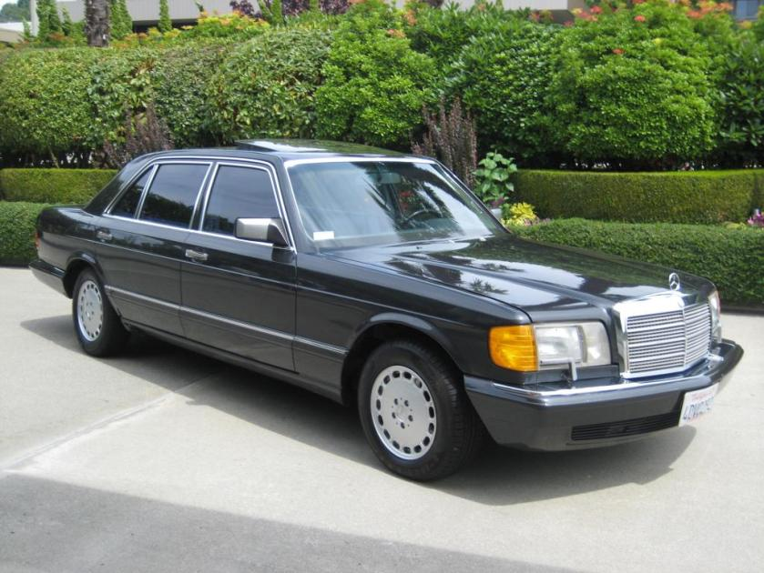 1990 Mercedes Benz 350SDL