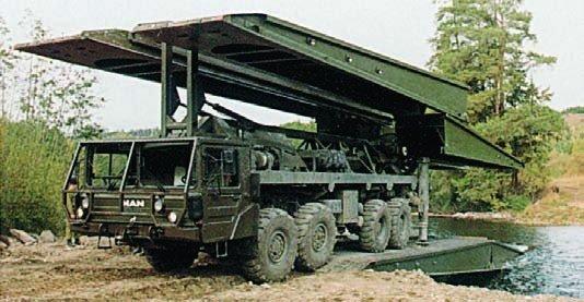 1995 Krupp-MAN Leguan, 8x8