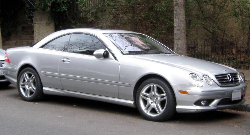 2000-06 Mercedes Benz CL Class