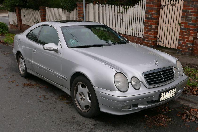 2000 Mercedes Benz CLK 320 (C208) Elegance coupe
