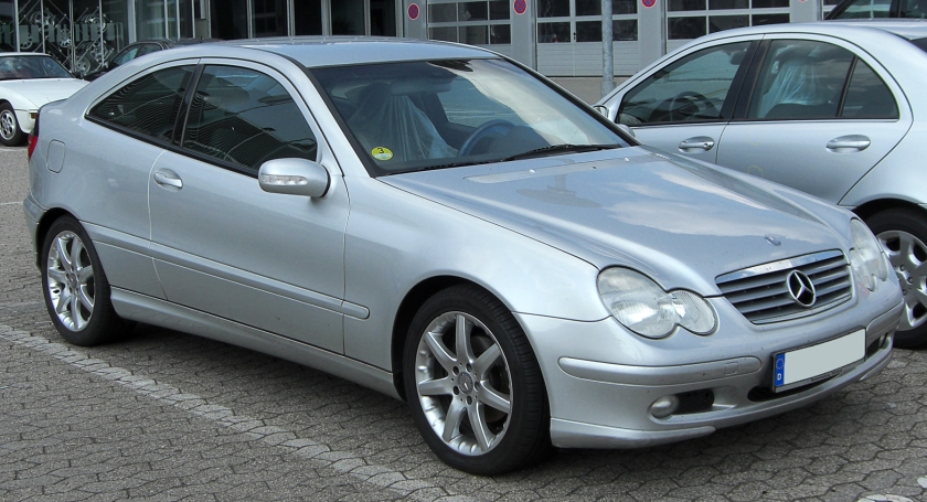 2001–04 Mercedes-Benz C 220 CDI SportCoupé (Germany)