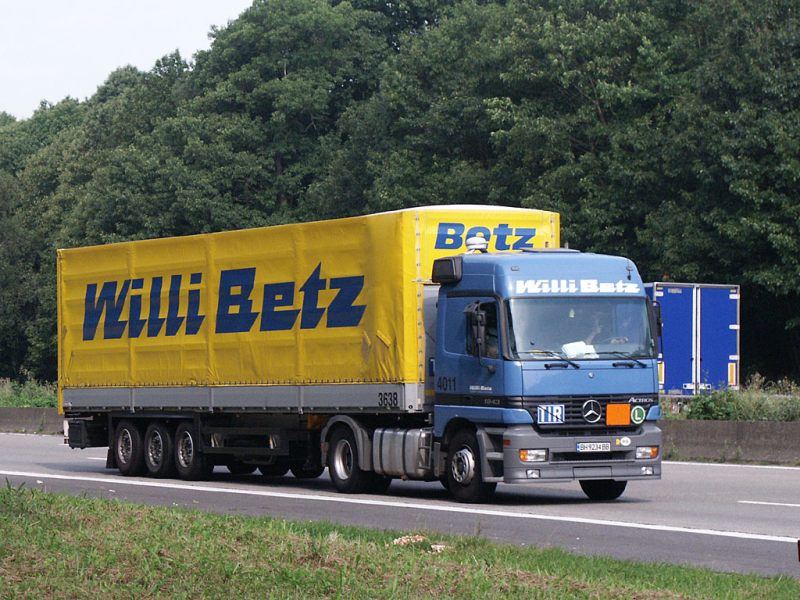 2004 Mercedes Benz Actros-Willi Betz (BG)