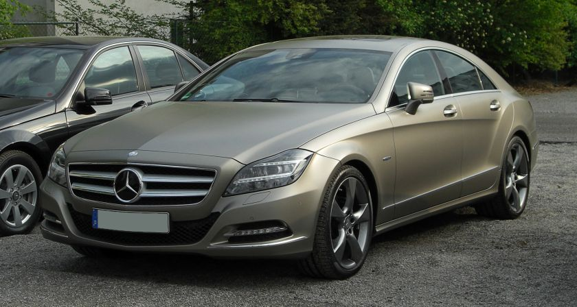 2004-present Mercedes-Benz CLS 350 BlueEFFICIENCY-series EDITION I C 218