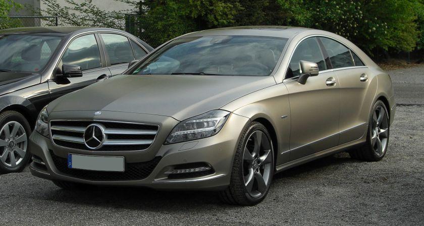 2004-present Mercedes-Benz CLS 350 BlueEFFICIENCY-series EDITION I C 218