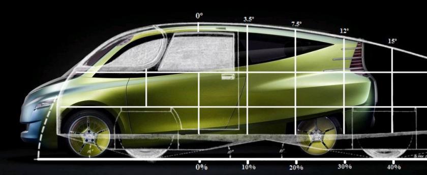 2005 Mercedes Benz Bionic Concept Car comparison