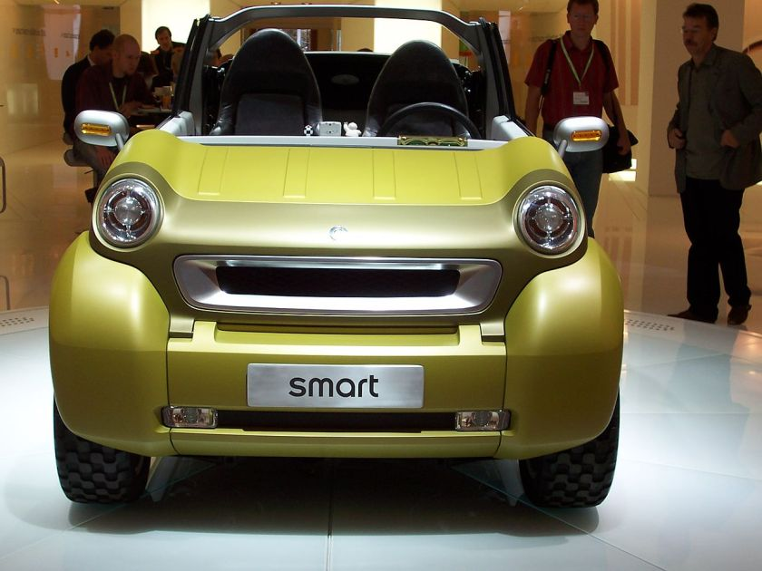 2005 smart crosstown-hybrid-frontohne a