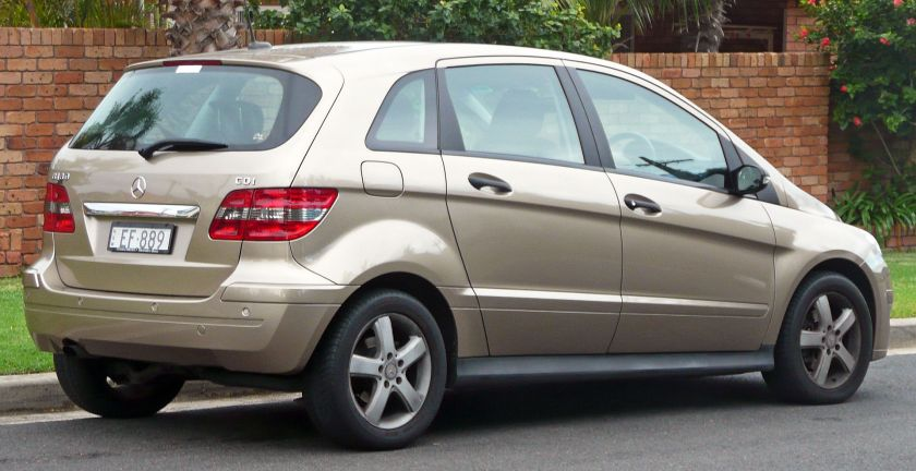 2006-08 Mercedes-Benz B 180 CDI (W245) hatchback