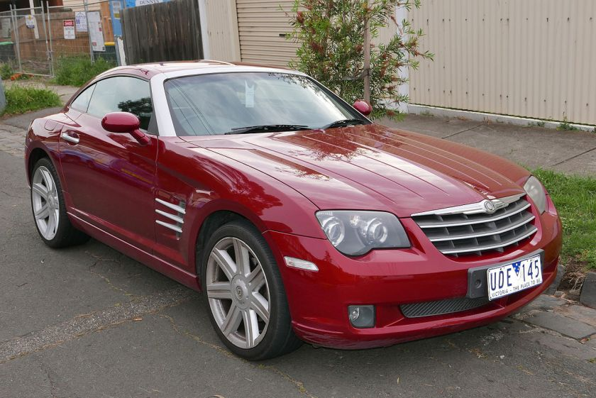 2006 Chrysler Crossfire (ZH MY05) coupe.jpg