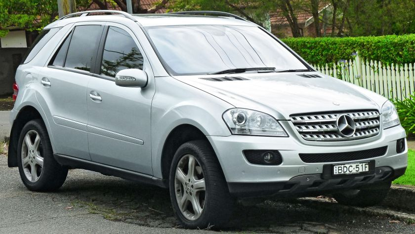 2007-08 Mercedes Benz ML 320 CDI (W164 MY08) wagon
