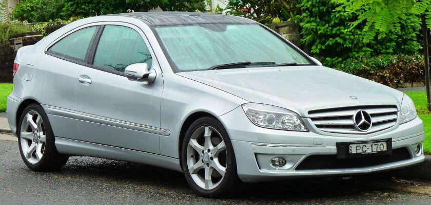 2008-11 Mercedes Benz CLC 200 Kompressor (CL203) coupe