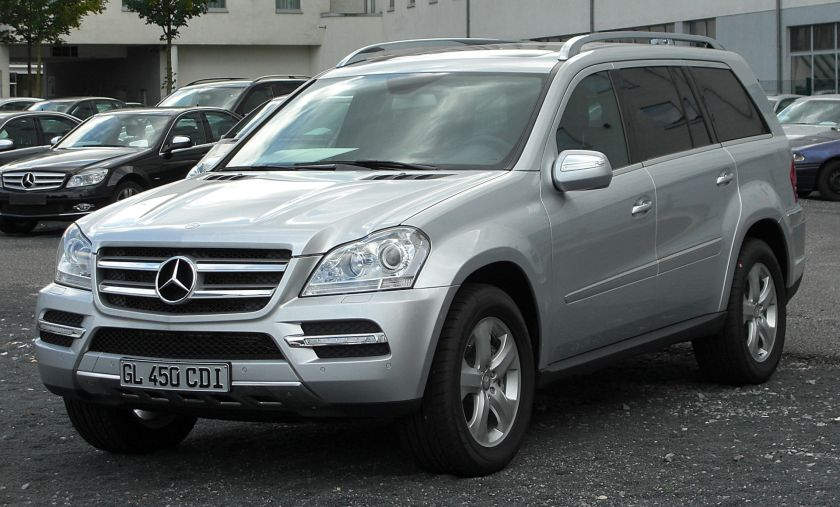 2010 Mercedes Benz GL 450 CDI 4MATIC (X164)