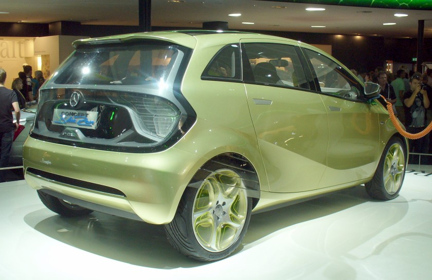 2010-present Mercedes Benz BlueZERO b
