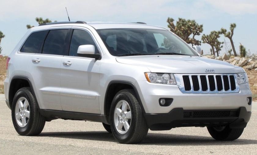2011 Jeep Grand Cherokee Laredo NHTSA 2