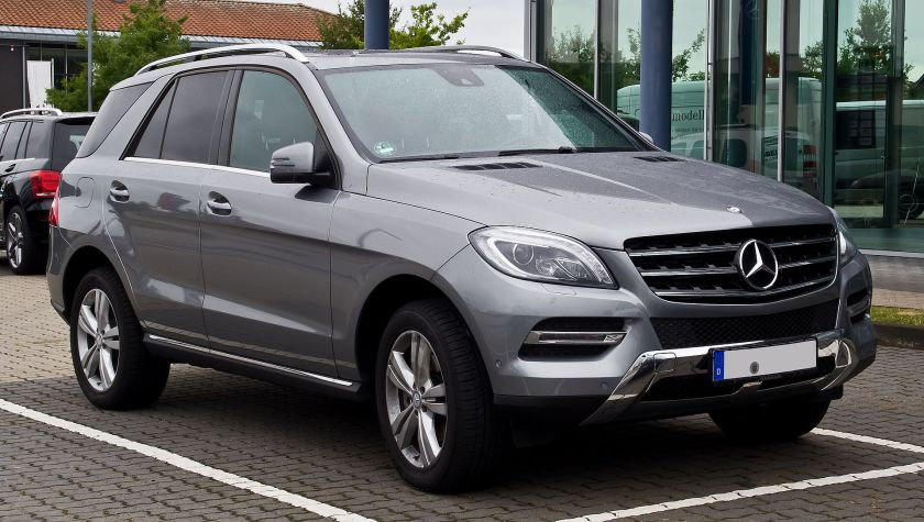 2011-present Mercedes Benz ML 350 BlueTEC 4MATIC (W 166)