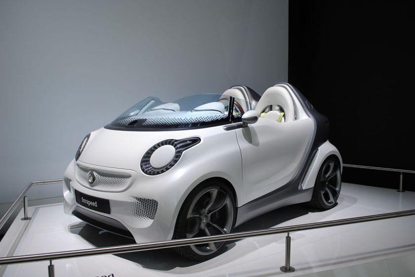 2011 Smart forspeed concept at Frankfurt Motor Show IAA 2011